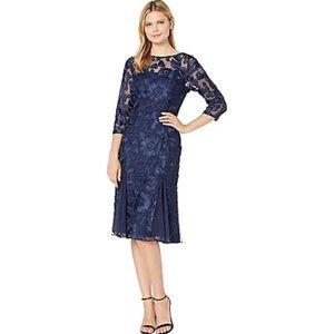 👯♀️Host Pick⚡️Alex Evenings Lace Midi Dress